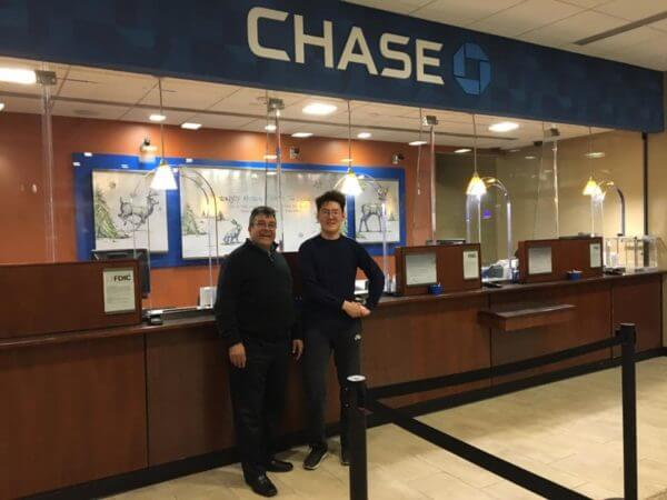 Chase Bank LED project
