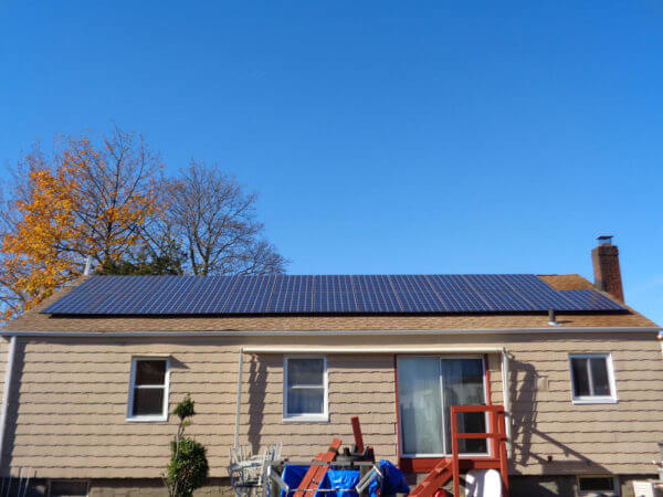Solar installation Huntington